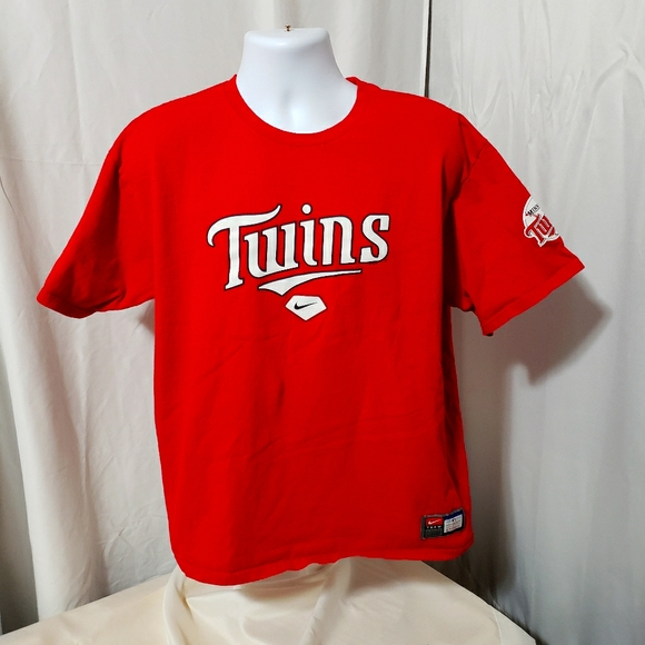 Nike Minnesota Twins Short Sleeve Shirt L MLB